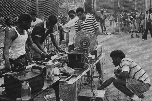 Block party z DJ-em Kool Herc, Nowy Jork lata 70-te